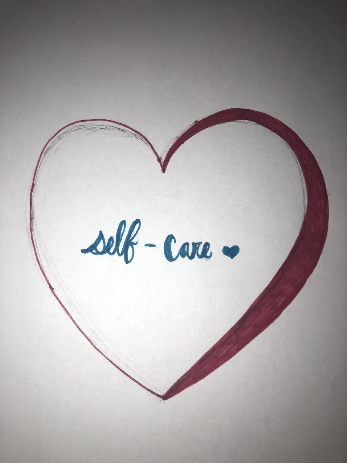 Self-care is the necessary care and love for yourself. Everyone deserves to be loved by themselves.