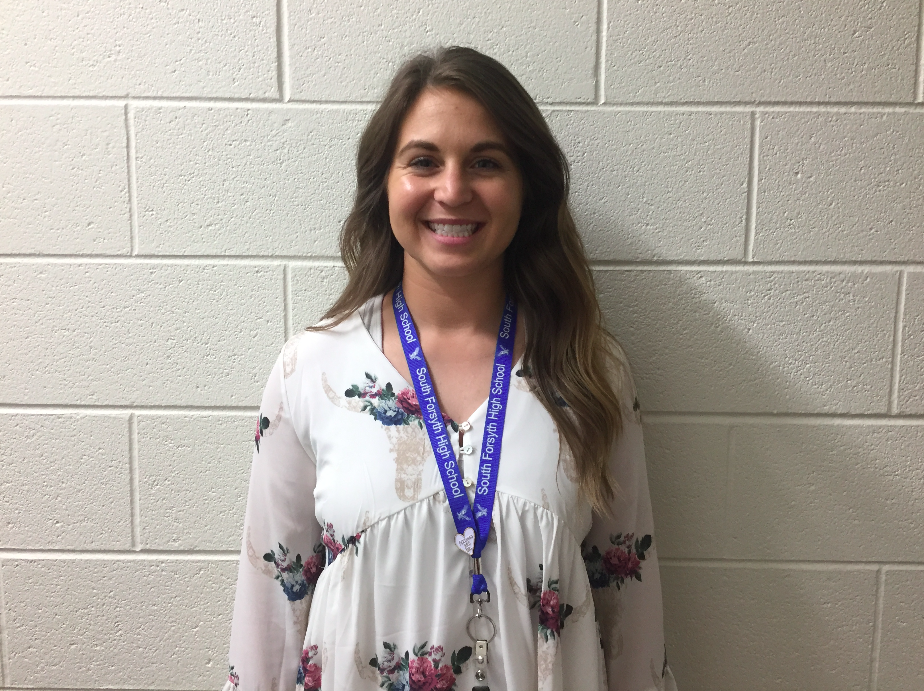 Lindsay Burnell has helped add beneficial aspects to our school.
