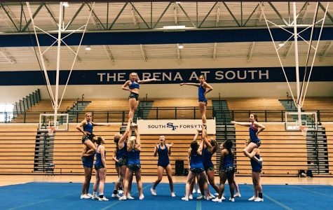 South cheerleading takes the win at state