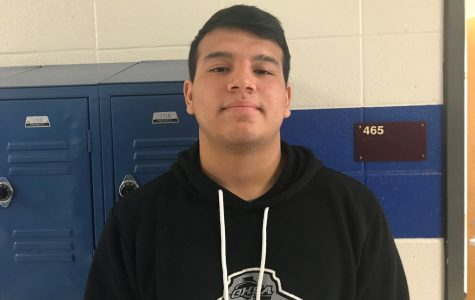 Student athlete, Luis Gonzalez, has high hopes for the future