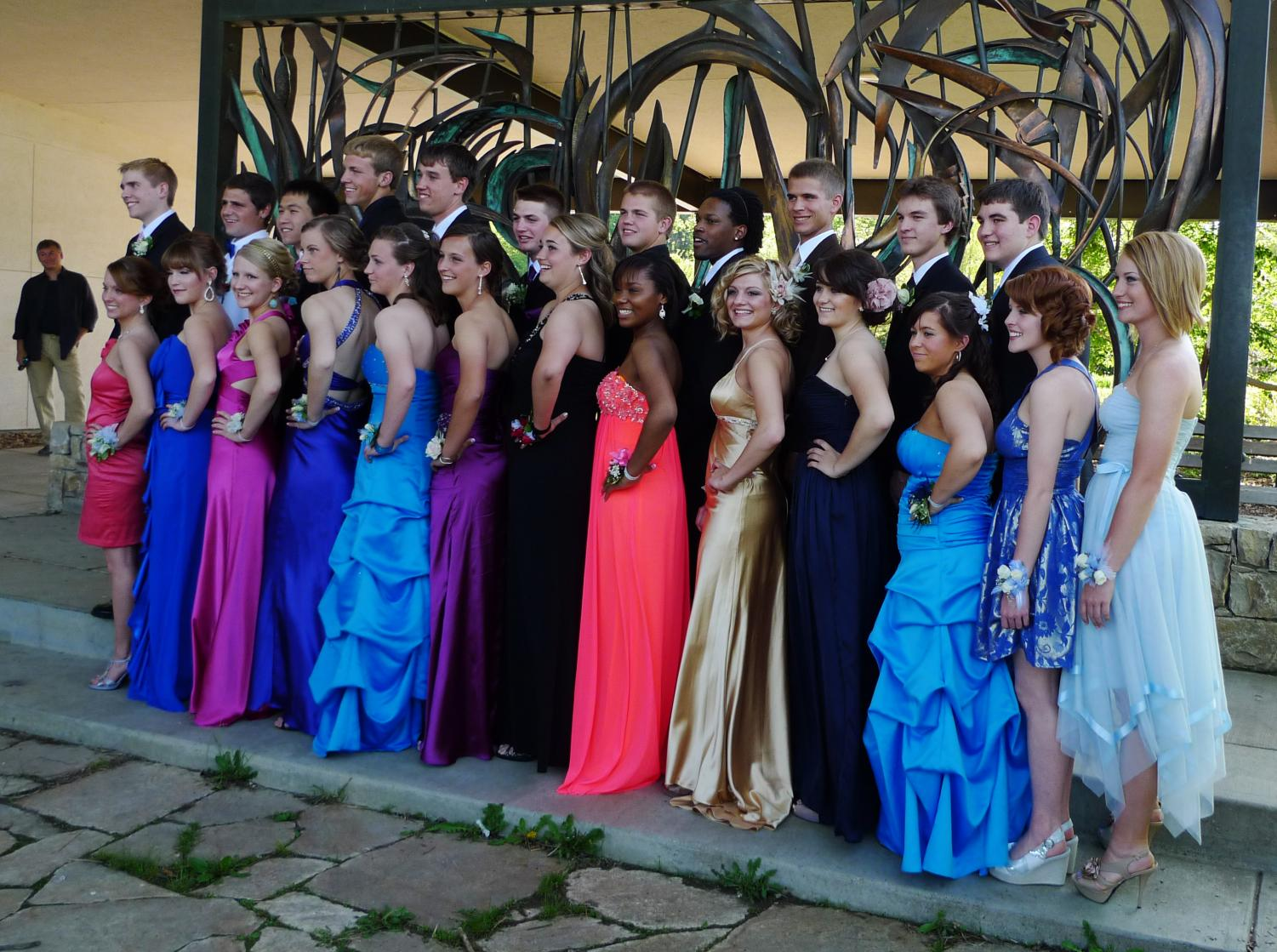 Statistics have shown that prom attendance in the Southern United States is the highest it has been with 76% of teens reporting that they will attend the end of year celebration for upper-classmen. (Statistics credited to USA Today).