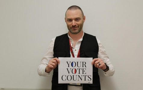 Voter's voice with Mr. Fahey