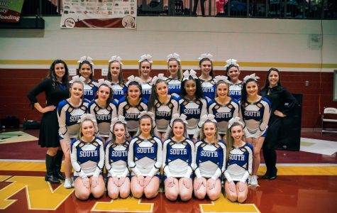 Taking on regionals: South Forsyth Cheer