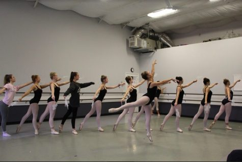 Behind the Scenes of the Sawnee Ballet Theater's Nutcracker