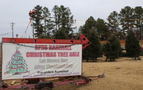 Baseball team keeps alive the Christmas tree tradition