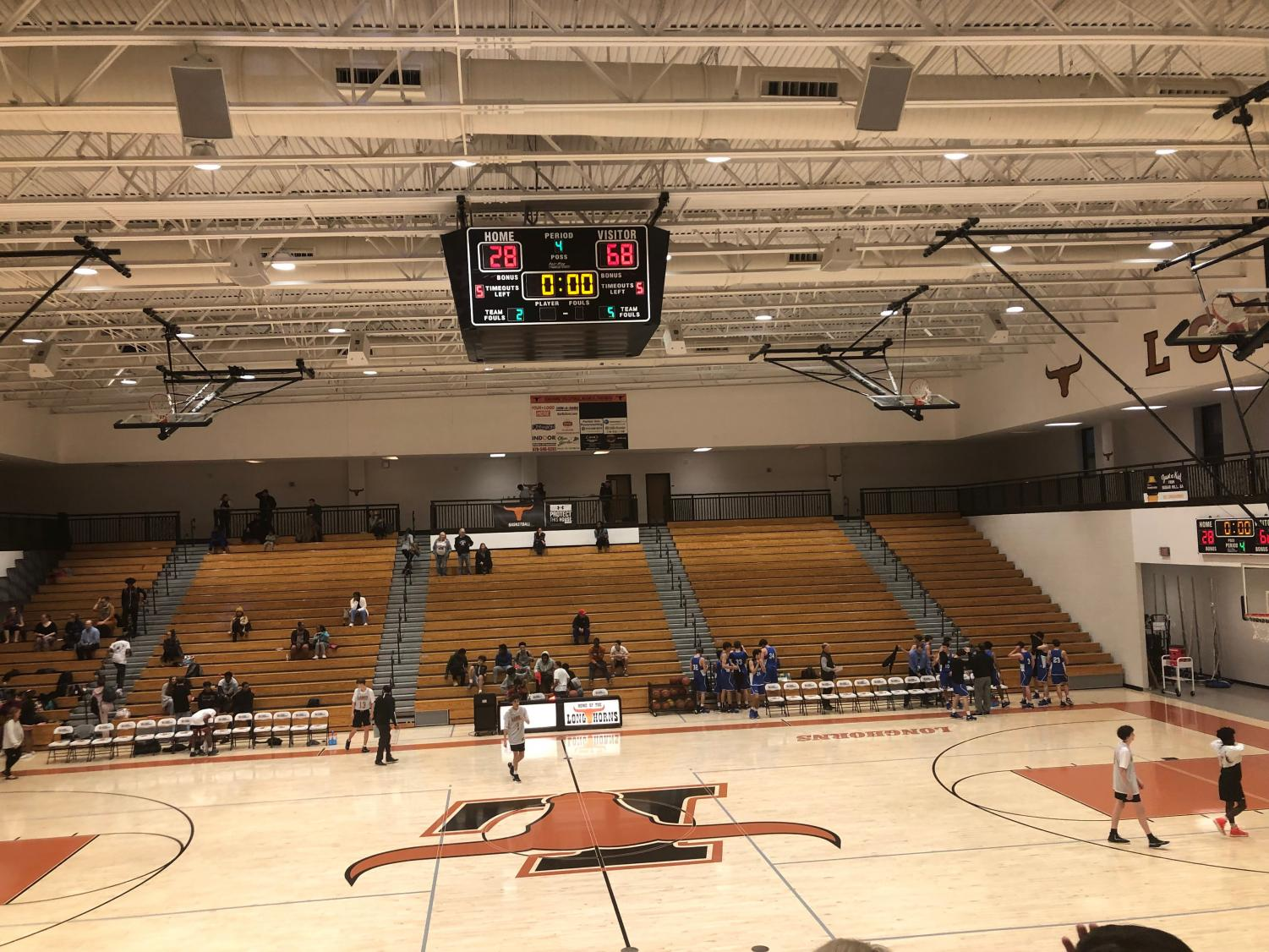 Sweet victory. South Forsyth basketball travelled to Lanier during their season. The JV boys were consistent in their game, and ended up defeating the Boy's JV Lanier team.