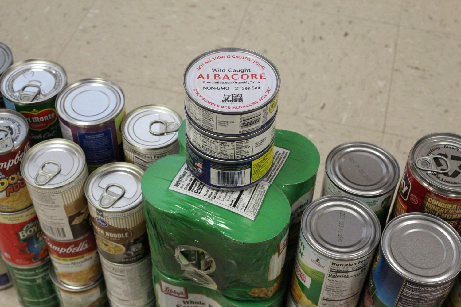 To can or not to can? The Food Fight has filled classrooms at South with cans of non-perishable items to go to Meals by Grace. The amount of cans will decide which grade level will win an ice cream social during IF.
