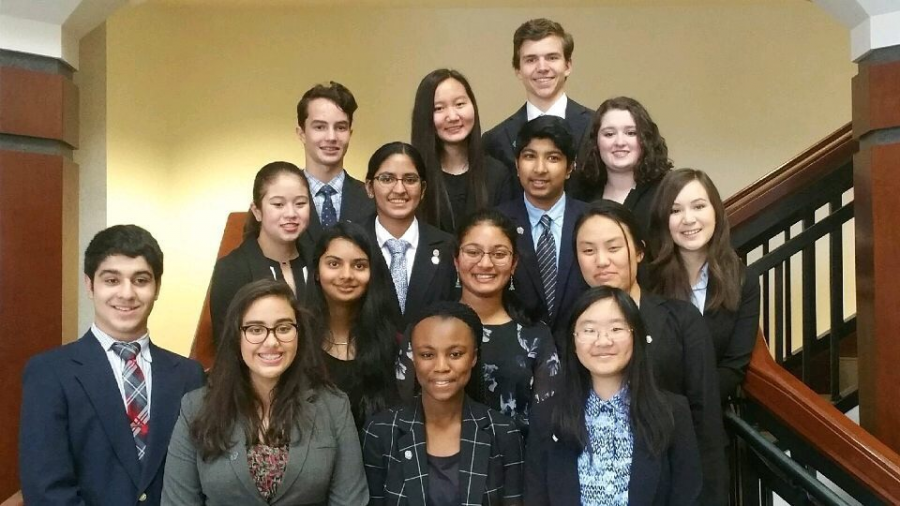 Mock+Trial+Group+Photo.+The+Mock+Trial+Team+gathers+together+for+a+group+picture+at+the+Georgia+High+School+Mock+Trial+Competition+last+year.+Although+some+members+have+moved+to+Denmark+High+School%2C+the+Mock+Trial+Team+has+gathered+new+members+and+are+improving+every+day+for+their+new+case.+%22It%E2%80%99s+a+wonderfully+fun+club+that+teaches+you+how+to+argue+and+look+graceful+while+doing+it%2C%22+junior+Kate+Tisdale+claimed.