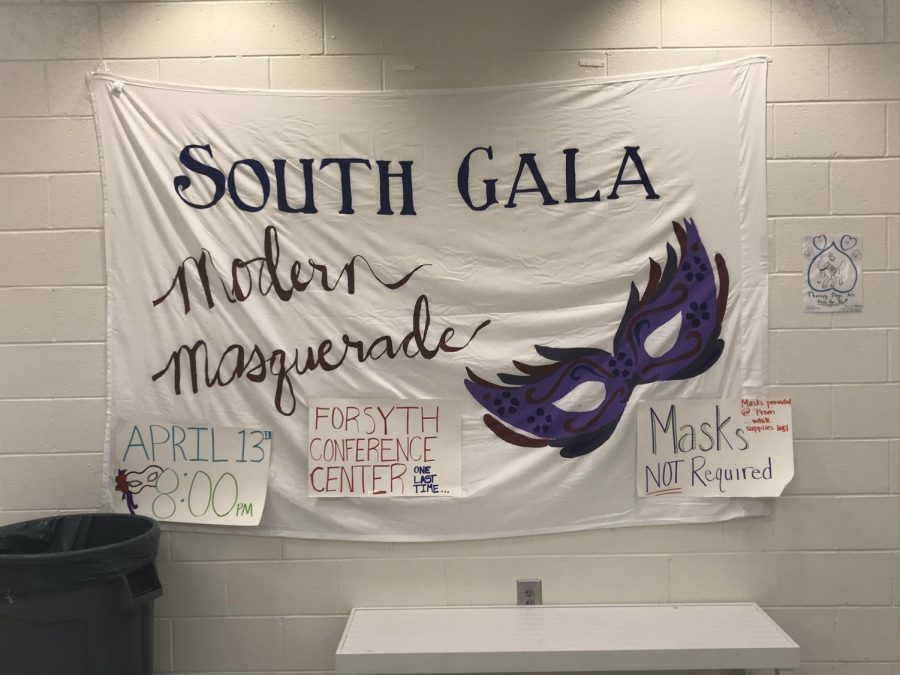 Filled with anticipation. South Forsyth's prom is approaching soon on Saturday, April 13th. Some students are preparing for the night by purchasing their dresses, often finding them to be overly expensive.