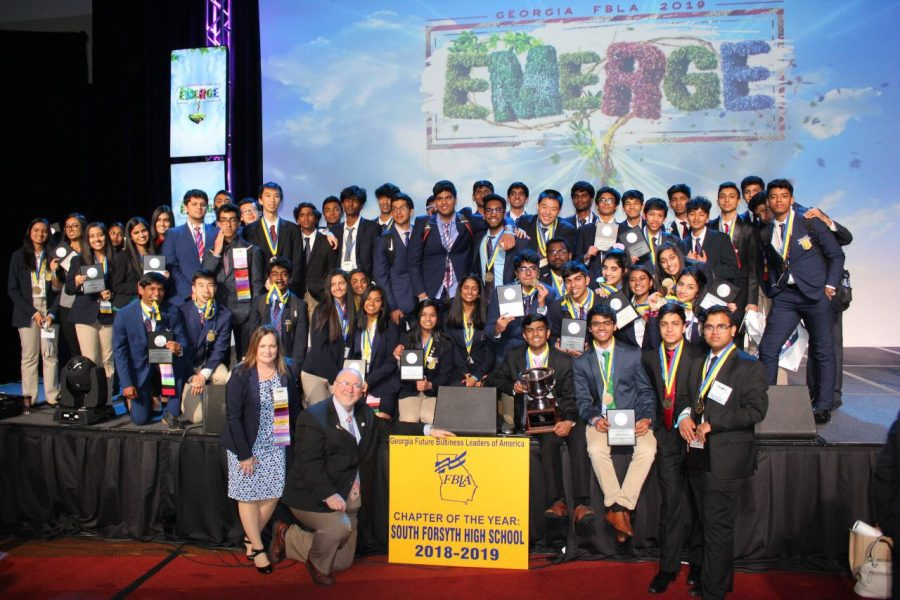 South's FBLA Chapter exceeds expectations at State Conference
