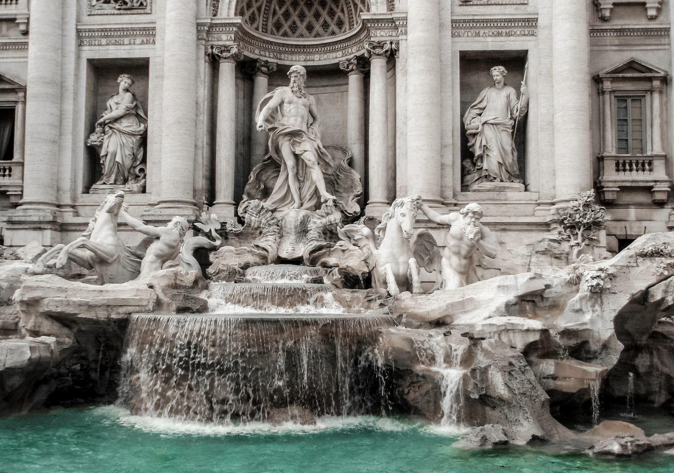 A stunning piece of art. The Trevi Fountain, which is in Rome, is one of the most popular spots to visit for tourists. For the school trip in 2020, students will get the chance to see the fountain first-hand on Day 3.