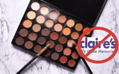 Asbestos found in Claire's and Justice Makeup Products