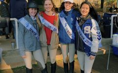 Interviewing the senior Equestrian Varsity Co-captains