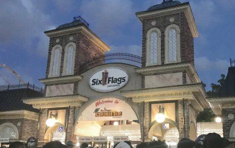 Seniors celebrate at Six Flags