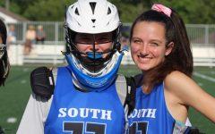 Girl's varsity lacrosse: determined to improve