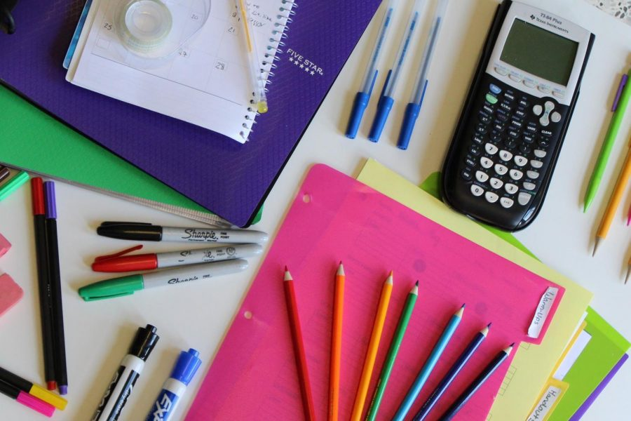 Pencils, markers, notebooks, and more! As students get back into their daily routine in the year, they begin to organize all their supplies. Throghout the year, students organizational skill's are a major key to unlocking the door to success.