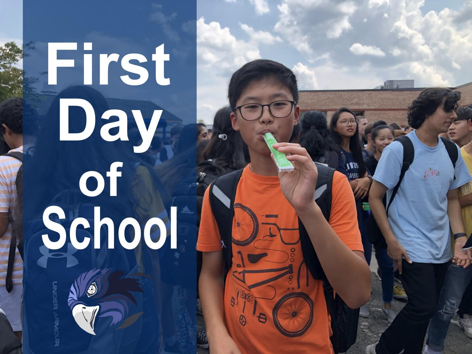 A new way to start the year. South High's war eagles started their year off with friends, spirit, and fun. Throughout the day, students participated in a pep rally, played icebreakers in their IF classrooms, and had the opportunity to end the day with refreshing popsicles.