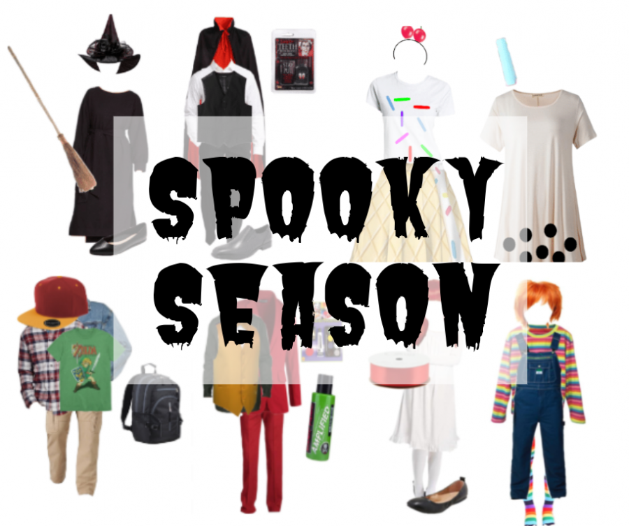 Spooky season. Halloween is an annual tradition in the United States and many people purchase expensive costumes, increasing sales  for costume stores. However, Party City is not the only place to purchase a costume; DIY costumes are an easy way to save money and still have a killer costume!