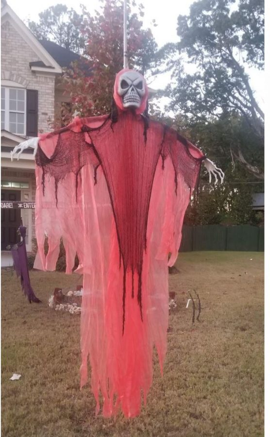 Monsters, monsters, and more monsters. Halloween is approaching very soon, and the holiday is putting everyone in the spooky spirit. Many neighborhoods around the county have decorated their houses to celebrate this annual holiday.