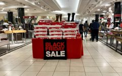 50 percent off. Oftentimes, stores such as Macy's hype up their Black Friday sales in order to gain maximum profits. However, sometimes getting half off a product means losing all of a customer's integrity and kindness. Image used via Flickr under Creative Commons.