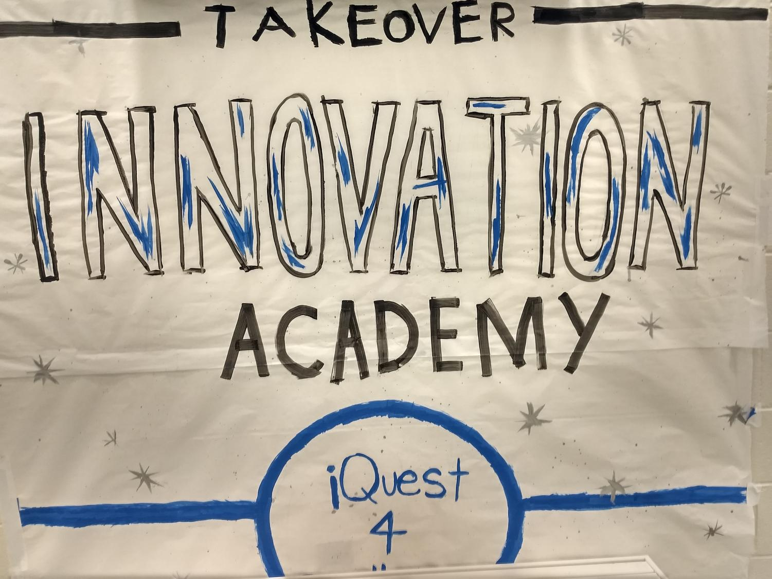 Questing for excellence. South's Innovation Academy is known for helping its students partake in creative risks to reach their fullest potential. The school participated in the Innovation Academy takeover during the month of November.