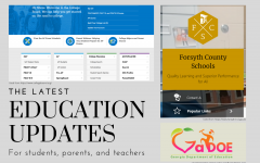 Keeping everyone informed. As students are completing the school year virtually, teachers and staff are contiously updating them with the newest information. As of now, there are updates regarding grades and tests administered at the end of the year.