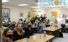 Fighting Covid in the Classroom. While it is not a requirement for students to wear masks at South Forsyth, many students prefer to wear masks to protect themselves and others from exposure. While was different experience going to school last year when compared to this year, many students are thankful for the opportunity to attend face to face school for the 2020-2021 year.