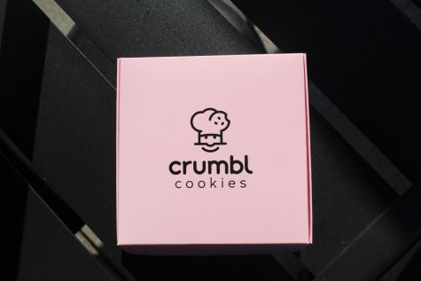 A delicious delicacy. Crumbl Cookies is a famous bakery open all across the country. They held their grand opening in early September which bring in crowds of people from all over the county.