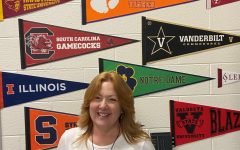 Great resources. Mrs. Mallamace is the head of the College and Career Center at South Forsyth. She has been working at South for many years and has a passion for helping students. This year, through the CCC, she hopes to help juniors and seniors understand what colleges look for and what they have to offer for their student population