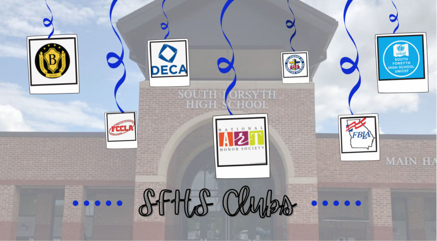 Clubs during COVID. South Forsyth High School offers a variety of clubs to their students. While these club might have to adjust their operations, all students will have the opportunity to participate in them, regardless if they are virtual or in-person.