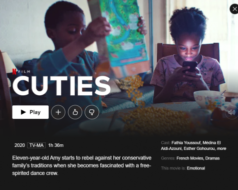 Coming of age. The film Cuties shows a lot of the struggles pre-teens and teens go through as they explore their sexualities, but a lot of the choices miss the mark. The film won an award at the Sundance Festival, but received outrage online after its promotional release.