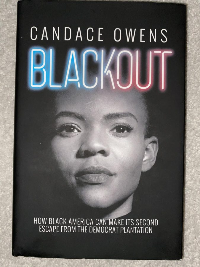 Candace Owens' Book: Blackout: How Black America Can Make Its Second Escape from the Democrat Plantation.