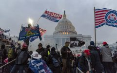The Capitol Riots. Thousands of Pro-Trump protestors marched to the Capitol building and made their way inside. Both chambers of congress were forced to halt the verification of electoral votes as they sheltered in place from the violence.