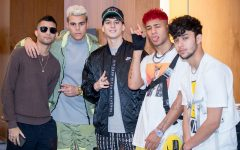 The boy band CNCO in 2019. CNCO has released their fourth album- a cover album in which the band shows appreciation to the older style of Latin music. It has not been announced if there will be a world tour for this album, but they did previously tour in 2019.