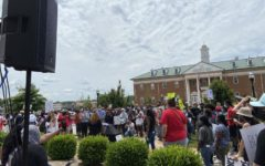 Black Lives Matter. Over the summer of 2020, a student from South Forsyth participates in a Black Lives Matter protest near the Forsyth County Courthouse. They advocated for freedom, and a revision in America's justice system. Throughout the protest, a large gathering of diverse individuals, congregated in Cumming.