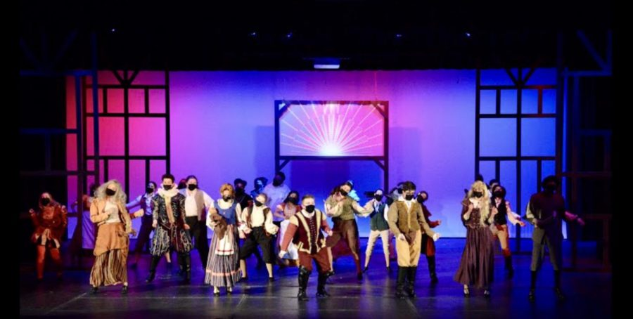 """""""Something Rotten!"""". The SFHS performing arts program puts on their first spring show in two years. They managed to pull off a wonderful performance despite the obstacles of COVID-19."""