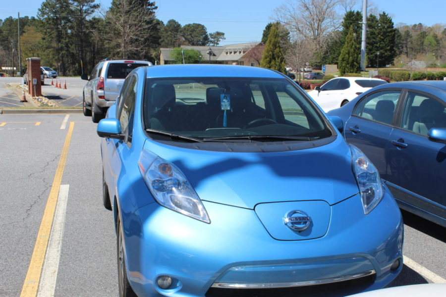 "Revving up. Electric cars are rising in popularity due to convenience and environmental concerns. Several South students and teachers have used these vehicles for many years and urge others to do the same. ""I tell everyone to switch to an EV!  I love it and will never drive a gas car again,"" says Ms. Graham."
