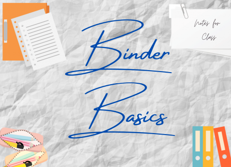 Binder organization. For many students, its important to separate and organize their assignments for each class in order to be prepared for each class. Its suggested by many other students that using binders prevents the issue of lost or late assignments.