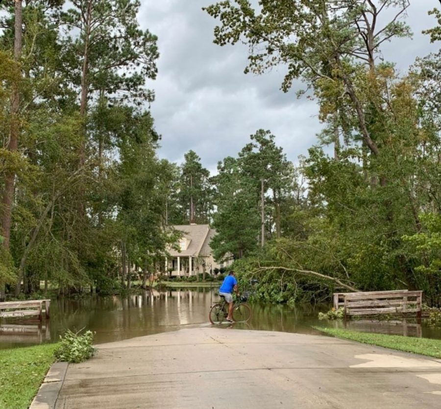The aftermath of the storm. Hurricane Ida first lands in Louisiana as a category 4 hurricane, lending way to extremely strong winds alongside heavy rainfall.   The storm resulted in many fallen trees and flood streets for the residents of the state.
